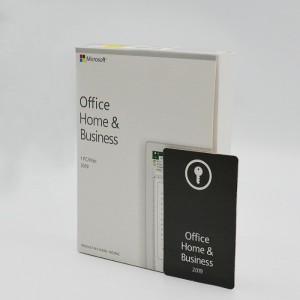 Microsoft Corporation Office Home & Business 2019 Genuine Key/Keycard Hungarian